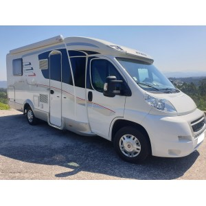 Hymer Tramp CL cama central
